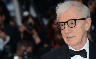 Le réalisateur Woody Allen au festival de Cannes le 11 mai 2016