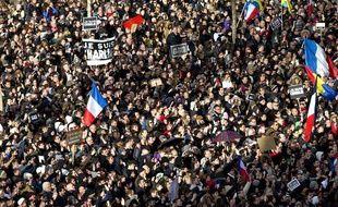«Marche républicaine» à Paris