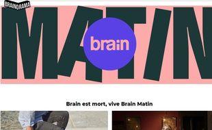 Brain Magazine ferme son site Web pour se transformer en newsletter payante.
