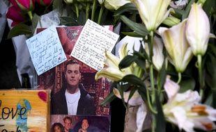 Des hommages à Jack Merritt sur le London bridge, le 1er décembre 2019.