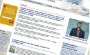 Le site academie-en-ligne.fr, hier.