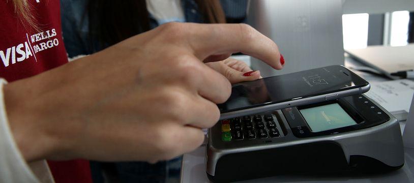 L'Euro numérique pourrait constiter en un portefeuille numérique, disponible dans les smartphones. (Illustration)