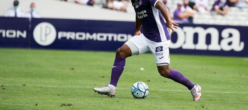 Le défenseur toulousain Kelvin Amian, l'un des rescapés de la catastrophique saison dernière en Ligue 1.
