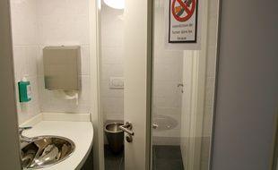 Illustration de toilettes