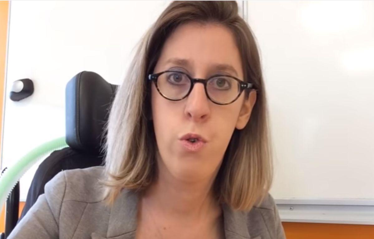 Sarah Salmona, prof de Français dans l'Académie de Versailles. – Capture d'écran