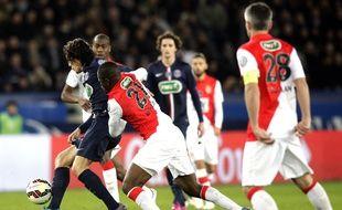 Le PSG et Monaco se sont affrontés en quarts de finale de Coupe de France (2-0 pour Paris) le 3 mars 2015.