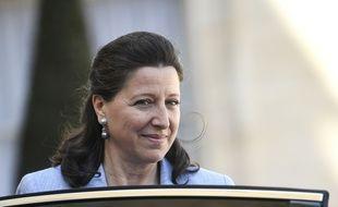 Agnès Buzyn, ministre de la Santé devant l'Elysée le 27 avril 2018, ne souhaite pas augmenter le numerus clausus pour lutter contre les déserts médicaux.
