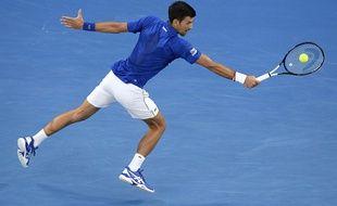 Djokovic en balade contre Nishikori.