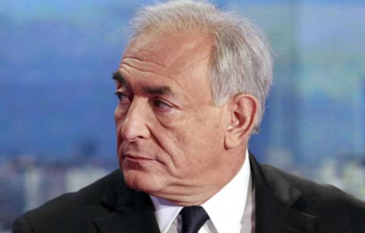 Dominique Strauss-Kahn au 20H de TF1, le 18 septembre 2011. – F.GUILLOT/AP/SIPA