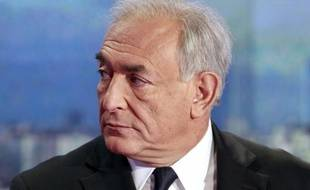 Dominique Strauss-Kahn au 20H de TF1, le 18 septembre 2011.