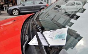 Finis les PV, place aux forfaits pour les fraudes du stationnement payant, à Strasbourg comme ailleurs, au 1er janvier 2018. Illustratio