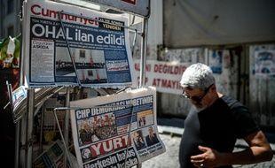 Plus de cent journalistes sont en effet actuellement emprisonnés en Turquie.