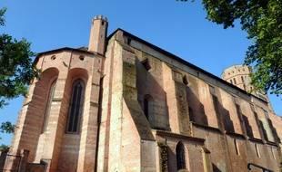 La cathédrale Saint-Alain de Lavaur, dans le Tarn.