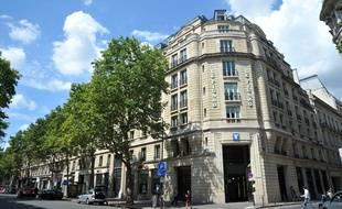 Le siège du «Figaro» à Paris.