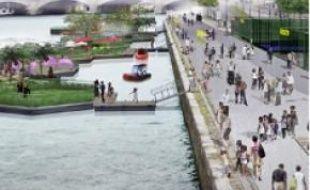 L'aménagement est prévu pour 2012.