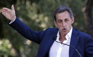 Nicolas Sarkozy à Nice le 19 juillet 2015.