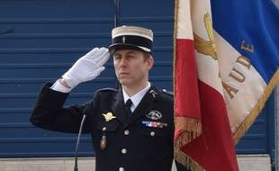 Le lieutenant-colonel de gendarmerie Arnaud Beltrame.