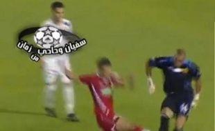 Le gardien du FAR de Rabat s'est une nouvelle fois illustré de triste manière lors du match face au KAC de Kénitra le 25 septembre 2010