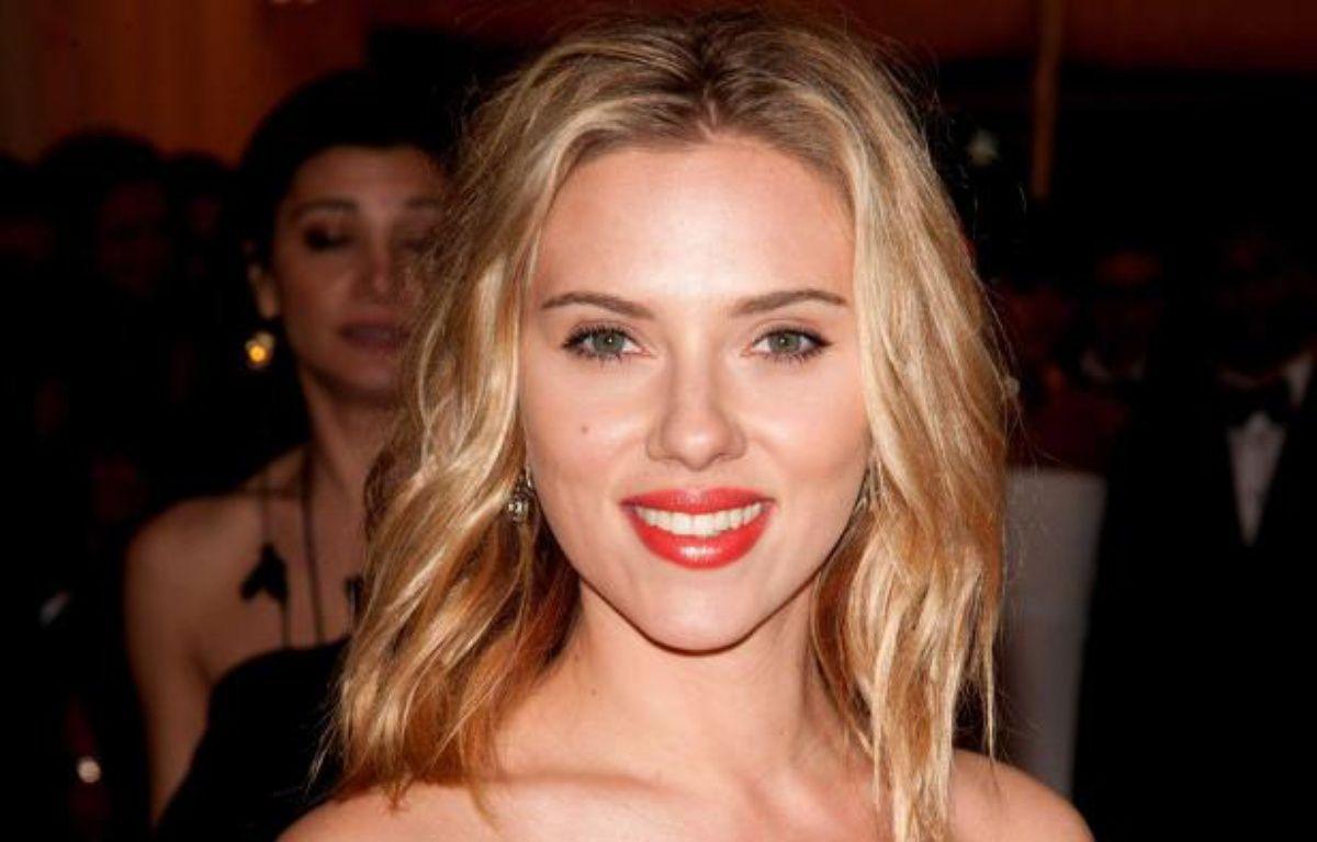 Scarlett Johanssonle 7 mai 2012. – Erik Pendzich/Rex/SIPA
