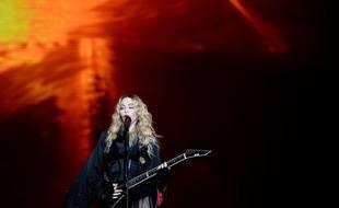 Madonna en concert à Prague le 7 novembre 2015