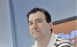 L'entraîneur du BCS, Stéphane Eberlin.