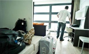 Les demandes pour une chambre en cité U sont arrivées plus tard cette année.