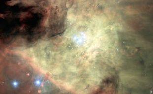 Cette image couleur de la Nébuleuse d'Orion a été constituée à partir des données acquises par le nouvel instrument MUSE qui équipe le Très Grand Télescope de l'ESO.