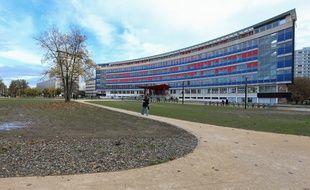 Université de Strasbourg, campus de l'Esplanade.