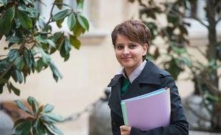 Najat Vallaud-Belkacem, ministre des Droits de femmes le 2 mai 2014.