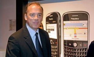 Stéphane Richard, le nouveau numéro 2 de France Télécom, le 8 octobre à Bordeaux.