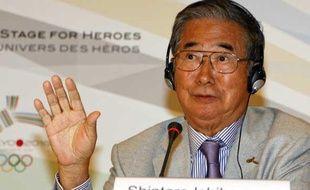 Le maire de Tokyo, Shintaro Ishihara, le 1er octobre 2009 à Copenhague.