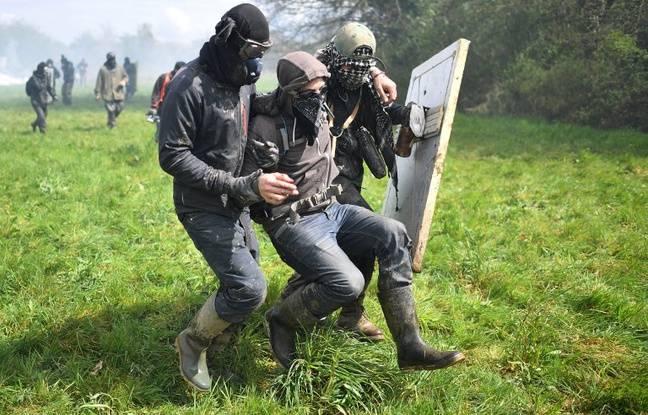 Un zadiste blessé lors d'une intervention de la gendarmerie à Notre-Dame-des-Landes.