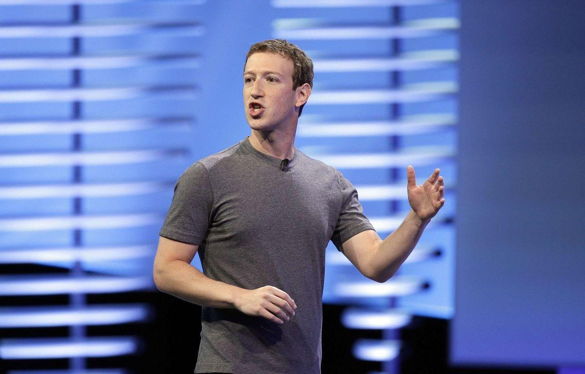 Le patron de Facebook, Mark Zuckberberg, à la conférence F8 2016, à San Francisco. –  Eric Risberg/AP/SIPA