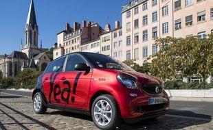 Après Strabourg, Toulouse et Bordeaux, Yea ! nouvelle offre d'autopartage, débarque à Lyon.