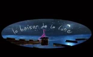 Capture d'écran de la bande-annonce du court-métrage «le Baiser de la lune», réalisé par Sébastien Watel.