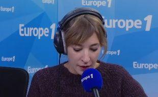 La chroniqueuse Nadia Daam sur Europe 1 ce mercredi 1er novembre 2017.