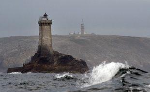 Le phare de La Vieille, situé au large de l'île de Sein, dans le Finistère.