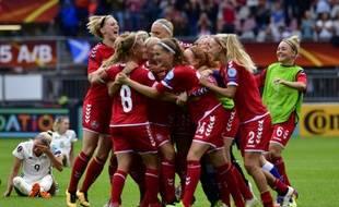 Le Danemark a réalisé l'exploit de sortir l'Allemagne en quarts de finale.