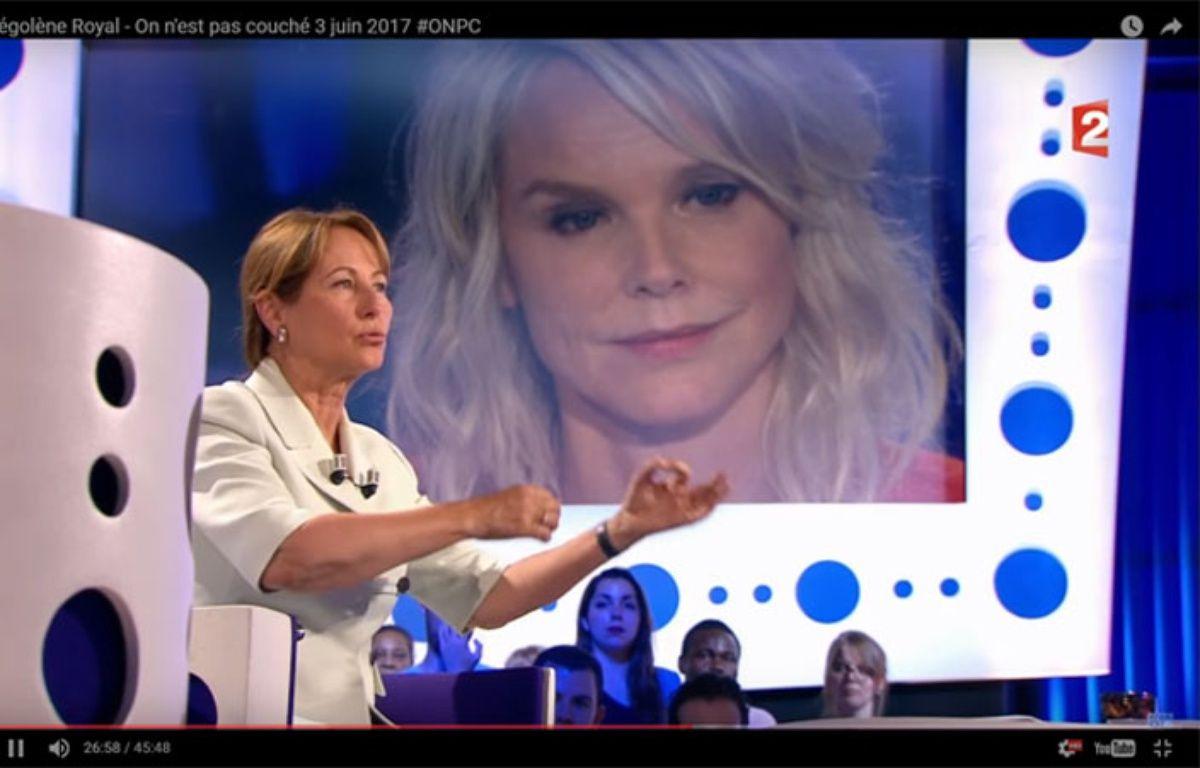 Ségolène Royal et Vanessa Burggraf, le 3 juin 2017 – Capture d'écran France 2