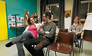Le centre culturel de la Madeleine accueille un atelier de théâtre en anglais.