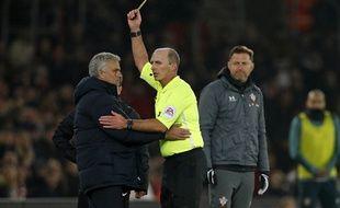 José Mourinho a retrouvé toute sa verve sur le banc des Spurs.
