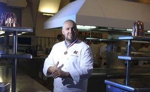 Le chef Guillaume Gomez ouvre les portes de sa cuisine au Palais de l'Elysee pour les Journées du patrimoine 2018