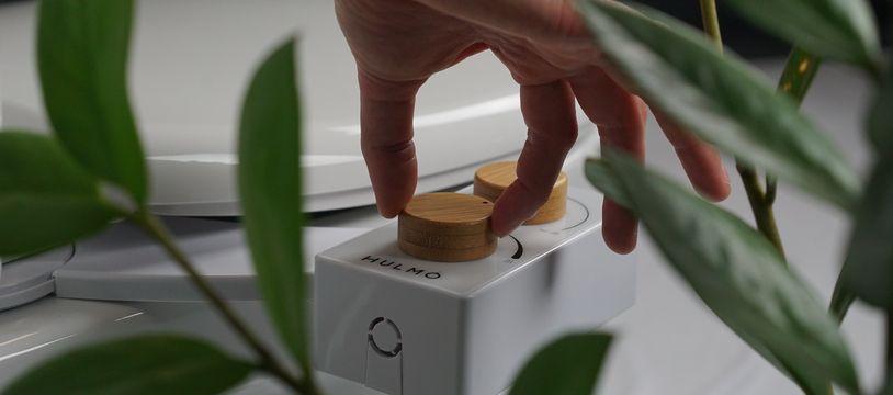 Le premier produit d'Hulmo permet de transformer ses toilettes en WC japonais