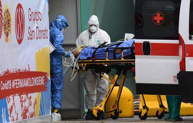 Coronavirus : Baisse inédite des hospitalisations en soins intensifs en Italie