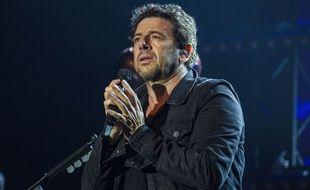 Patrick Bruel à Lille, lors d'un concert en février 2019.