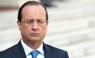 François Hollande à l'Elysée le 29 août 2013.