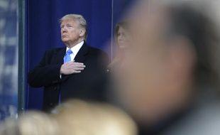 Donald Trump lors d'une cérémonie à New York, le 11 novembre 2019.