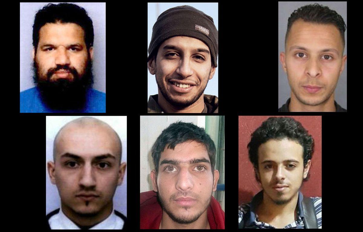 Les terroristes qui ont mené les attentats le 13 novembre à Paris. – SIPA/AFP