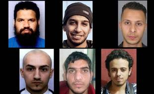 Les terroristes qui ont mené les attentats le 13 novembre à Paris.