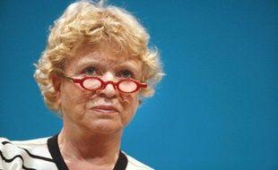 Eva Joly lors d'un meeting d'Europe-écologie, le 30 mai 2009 à Lille.